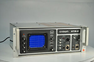 Crown Rta 2 Real Time Spectrum Analyzer
