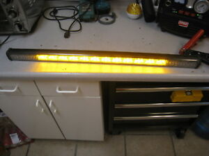 33 5 Federal Signal Cuda Signalmaster Amber Led Lightbar Traffic Advisor 3