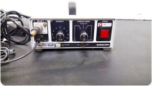 Surgicorp 300 Electrosurgical Unit esu W Foot Switches 208623