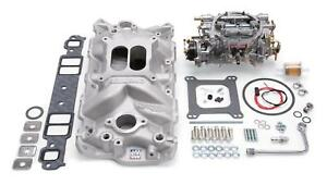 Edelbrock Performer Eps Intake Manifold And Carburetor Kit 2021