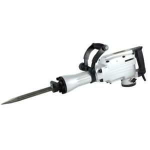 Tr Industrial Tr89100 Electric Jackhammer With Point Flat And Spade Chisels