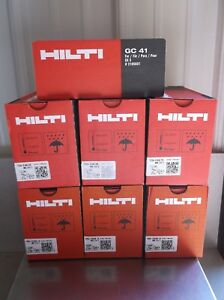Hilti Gx 3 Pins Fuel Cells Mix Case 3 Boxes 3 4 3 Boxes Of 1 2 With Gc 41