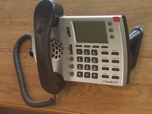 Shoretel Ip230g Silver Phone Handset And Stand Included