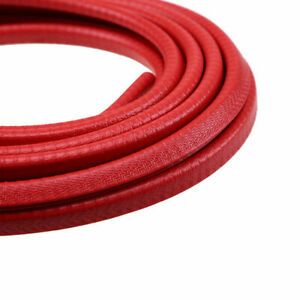 4 5m 15ft Car Suv Red Door Guard Body Bumper Protect Trim Protective Seal Strip