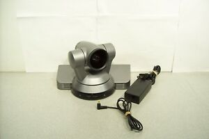 Sony Evi hd1 Ptz Hi def Video Camera Composite Component W Power Supply Tested