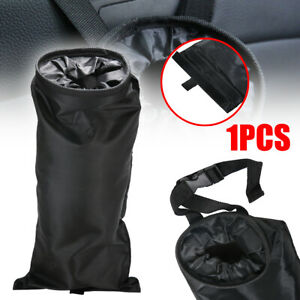 Car Seat Back Trash Bag Can Litter Garbage Bin Headrest Wastebasket Holder New