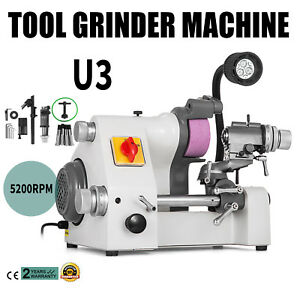 U3 Universal Tool Cutter Grinder Machine Tool Cutting Less Vibration 5 Collets