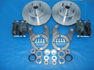 1937 38 39 40 41 42 46 47 48 Early Ford Spindle Complete Disc Brake Kit 4 1 2