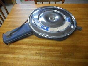 1971 1972 1973 Ford Mustang Cougar 351c 4v Air Cleaner Assembly Q Code