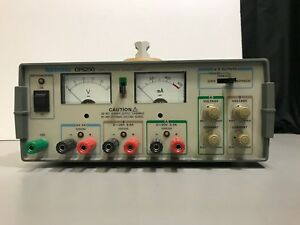 Tektronix Cps250 Triple Output Power Supply 110450b12bc