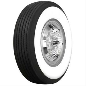 Coker Classic Bias ply Tire 62861 H78 15 With 4 437 In Whitewall Each