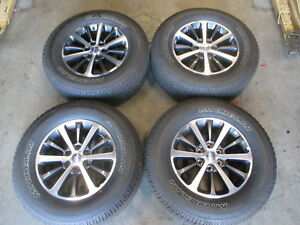 2018 Ford Expedition Factory 18 Wheels Tires Oem Rims 275 65 18 Michelin F150