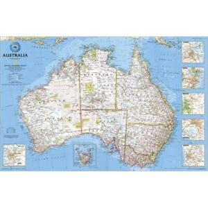 National Geographic Re00620146 Map Of Australia Political Laminated