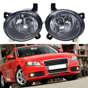 For Audi S6 A4 A6 Q5 S4 2007 2008 2009 2010 2011 2012 Hella Fog Light Left Right
