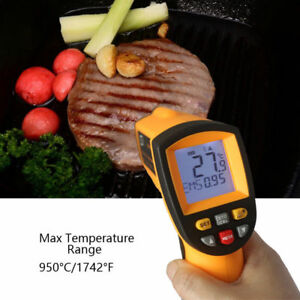 Gm900 Thermometer Digital Ir Laster Infrared Temperature Meter Non contact Lcd