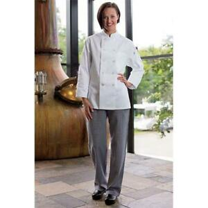 Uncommon Threads 4101 4004 Womens Chef Pant In Houndstooth Large