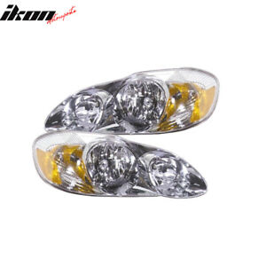 Fits 03 04 Toyota Corolla S model Rh Lh Headlights