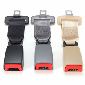 Universal 23cm Car Seat Belt Adjustable Safety Belt Extender Extension Buckle