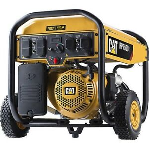 Emergency Brand New Cat Rp7500e 7500 Watt Electric Start Portable Generator