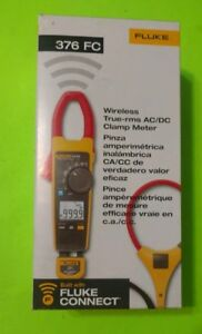 Fluke 376 Fc Wireless True Rms Ac dc Clamp Meter I2500 18 Iflex Flex Cable New