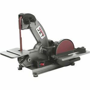 JET Bench Belt and Disc Sander-1in x 42in Belt 8in Disc #577003