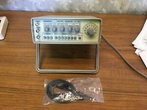 Goldstar Fg 8002 Function Generator Lab Portable Amplitude Leads Manual