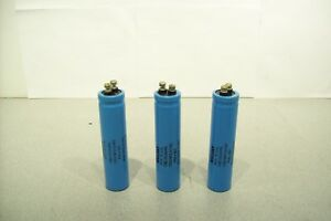 Lot Of 3 Mallory Electrolytic Capacitor 13000uf 40vdc Cgs133u040r5l Tested