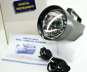 Digital Stroboscope 100 10000 Fpm Tachometer 100 10000 Rpm With User Manual