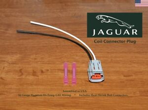 Jaguar Xj6 Xjs Ignition Coil On Plug Connector Engine Harness Repair Pigtail