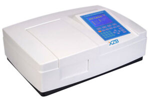 Double Beam Uv vis Spectrophotometer Ultraviolet Visible 1200lines With Software