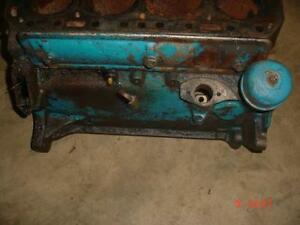 Original Ford 600 800 Tractor Bare Engine Block 601 641 801 860 Ford