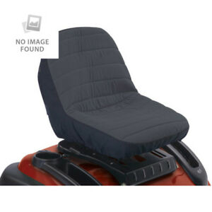 Lawn Mower Tractor Seat Cover Riding Protector Garden Cushioned Case Soft Comfy
