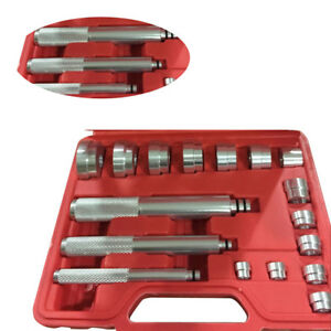 17pc Aluminum Master Bearing Race And Seal Driver Whell Axle Removal Tool Set