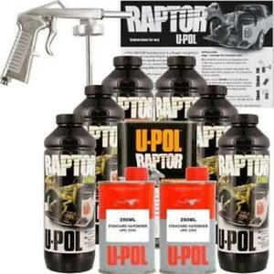 U pol Products Upl up4802 Raptor Tintable Urethane Truck Bed Liner Kit