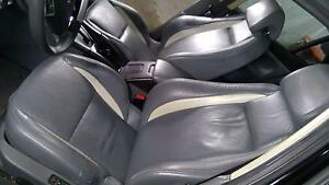 03 11 Saab 9 3 Aero Complete Leather Seat Set Front And Rear