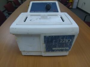 Bransonic Ultrasonic Cleaner 2210r mt Series 2210