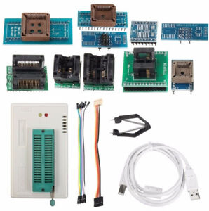Tl866a Programmer Usb Eprom Eeprom Flash Bios Programmer With Clip