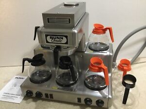 Bunn Rl 35 Automatic Coffee Brewer 5 Warmers Commercial Restaurant 208 240 pots