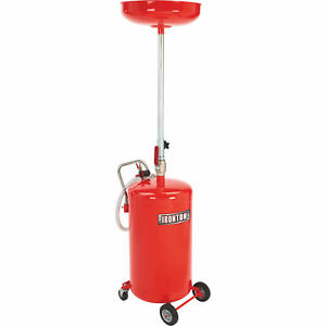 Ironton Air operated Waste Oil Drainer 20 gallon Tank