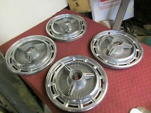 1965 1966 Chevrolet Ss Hubcaps Muscle Car 14