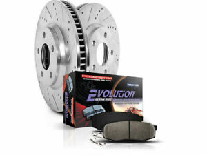 For 1997 2006 Jeep Tj Brake Pad And Rotor Kit Front Power Stop 65969gm 2001 1998