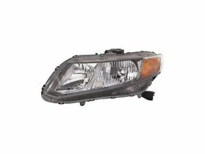 For 2012 Honda Civic Headlight Assembly Left Driver Side 96527hs