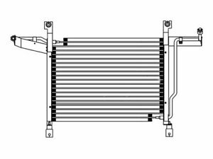 For 1980 1993 Ford F250 A c Condenser 52615xq 1989 1992 1991 1981 1982 1983 1984