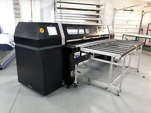 Hp Fb950 98 Uv Flatbed Printer Add With Your Roll Roland Mimaki Mutoh