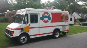 1998 Chevy P 30 Step Van Dually Sandwich Concession Food Truck Gas 100 Miles