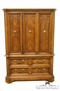 Drexel Marchesa Collection Italian Neoclassical 42 Door Chest Armoire 590 420
