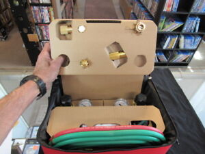 Lincoln Electric Oxy Acetylene Gas Welding Set With Gauges Cutting Torch New