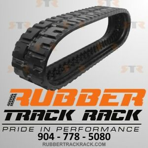 Bobcat Case New Holland Ctl Rubber Track Size B450x86sdx55 C Pattern