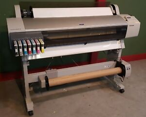 Epson Stylus Pro 9600 Wide Format Printer With Stand Model K112a As is
