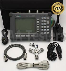 Anritsu Site Master S251b Twoport Transmission Cable Antenna Analyzer W 5